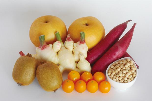 農菓子で使用している素材