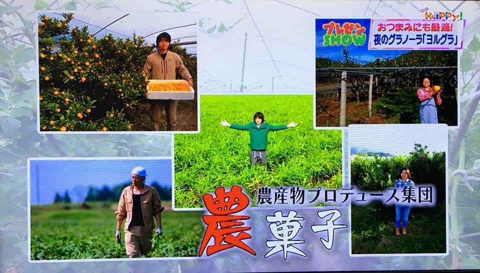 農菓子テレビ